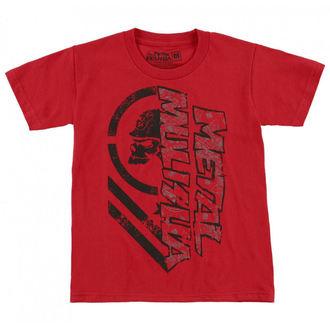 Majica ulična muška dječja - BURN - METAL MULISHA, METAL MULISHA