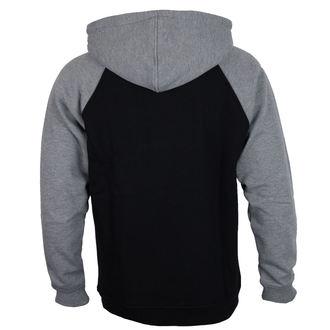 Majica s kapuljačom muška - 88 TC Raglan Black/ Dark Heather - INDEPENDENT, INDEPENDENT