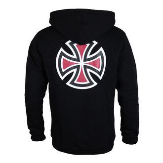 Majica s kapuljačom muška - Bar Cross Black - INDEPENDENT, INDEPENDENT