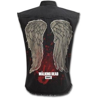 Košulja bez rukava muška SPIRAL - DARYL WINGS - Walking Dead Stone, SPIRAL