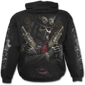 Majica s kapuljačom muška - STEAM PUNK BANDIT - SPIRAL, SPIRAL