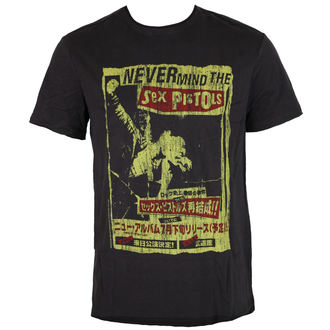 Majica muška AMPLIFIED - SEX PISTOLS - NEVERMIND THE  SEX PISTOLS, AMPLIFIED, Sex Pistols