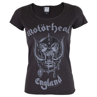 Majica ženska AMPLIFIED - MOTORHEAD - ENGLAND - Charcoal, AMPLIFIED, Motörhead