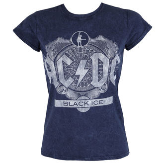 Majica metal ženska AC-DC - Black Ice - ROCK OFF, ROCK OFF, AC-DC