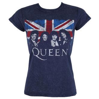 Majica metal ženska Queen - Denim - ROCK OFF, ROCK OFF, Queen