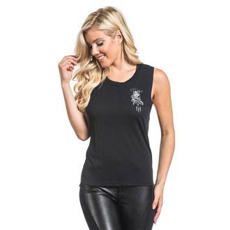 Majica bez rukava ženska SULLEN - PRIMM MUSCLE - BLACK, SULLEN