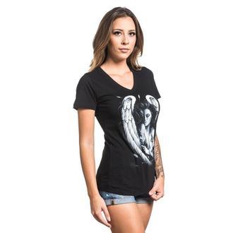 Majica ženska SULLEN - INK ANGEL - BLACK, SULLEN