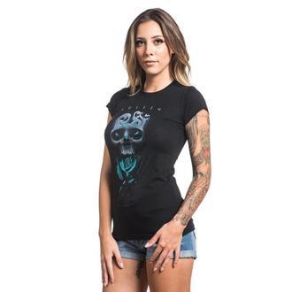 Majica ženska SULLEN - NEIL BADGE - BLACK, SULLEN