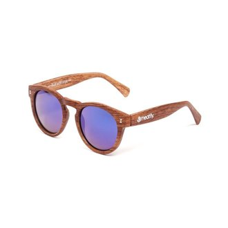 Sunčane naočale MEATFLY - Lunaris - E - Brown / Wood, MEATFLY
