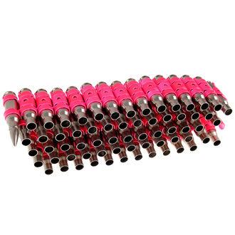 Pojas Silver & Fluorescent - Pink Metal Bullet