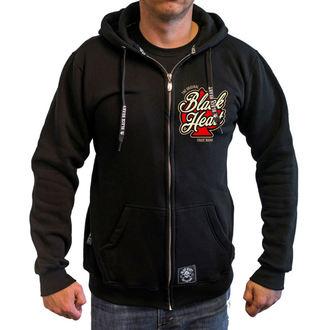 Majica s kapuljačom muška - HOT ROD ANGEL - BLACK HEART, BLACK HEART
