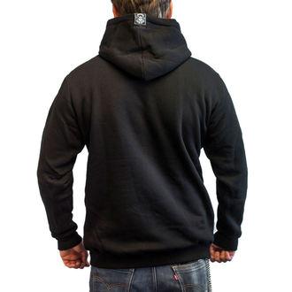 Majica s kapuljačom muška - FLAME CHOPPER - BLACK HEART, BLACK HEART