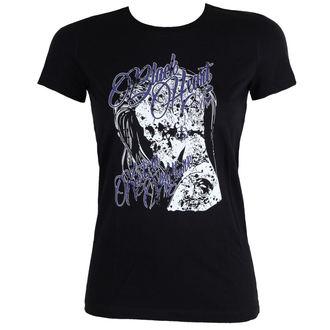Majica ulična ženska - PUNK - BLACK HEART, BLACK HEART
