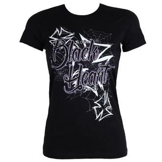Majica ulična ženska - CROSS - BLACK HEART, BLACK HEART