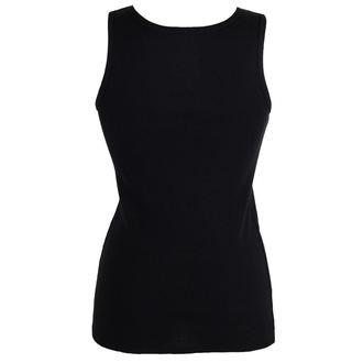 Majica bez rukava ženska BLACK HEART - WOLF - BLACK, BLACK HEART