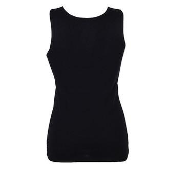 Majica bez rukava ženska BLACK HEART - PUSSY CAT - BLACK, BLACK HEART