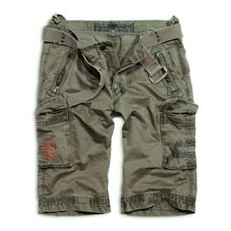 Kratke hlače muške SURPLUS - ROYAL - GREEN, SURPLUS