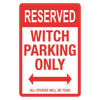 Ukras (znak) Witch Parking