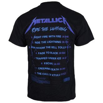 Majica metal muška Metallica - Ride The Lightening -, Metallica