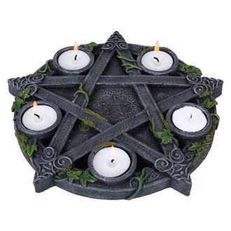 Svijećnjak (Ukras) Wiccan Pentagram Tea