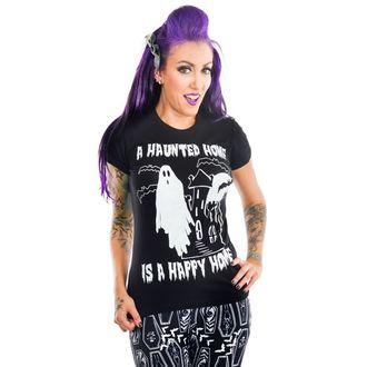 Majica gotika i punk ženska - HAUNTED HOUSE - TOO FAST, TOO FAST