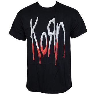 Majica metal muška Korn - Bloody Logo -, Korn
