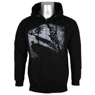 Majica s kapuljačom muška Korn - Black -, Korn