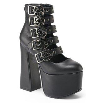 Cipele s visokom petom ženske KILLSTAR - Burial - Black, KILLSTAR