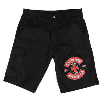 Kratke hlače muške AGNOSTIC FRONT - LOWER EASTSIDE - Black - RAGEWEAR, RAGEWEAR, Agnostic Front