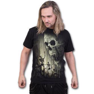 Majica muška - WAXED SKULL - SPIRAL, SPIRAL