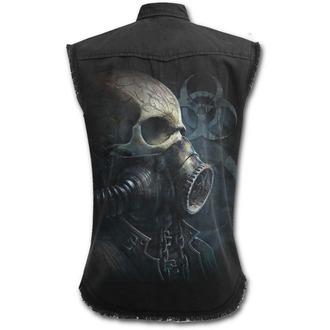 Košulja bez rukava muška SPIRAL - BIO-SKULL - Black, SPIRAL