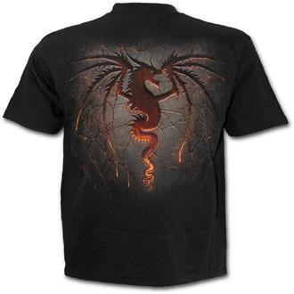 Majica muška - DRAGON FURNACE - SPIRAL, SPIRAL