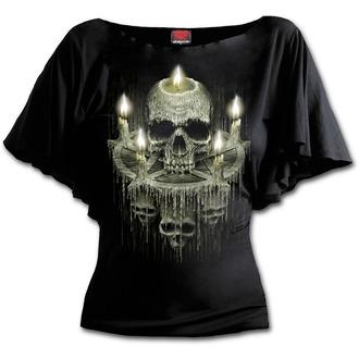 Majica ženska - WAXED SKULL - SPIRAL, SPIRAL