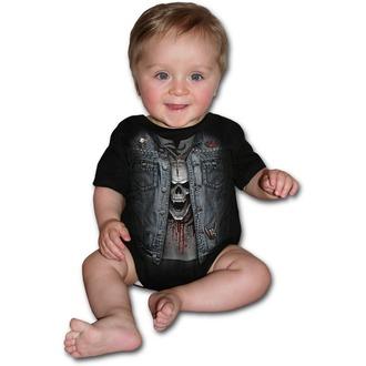 Dječji bodi SPIRAL - THRASH METAL - Black, SPIRAL