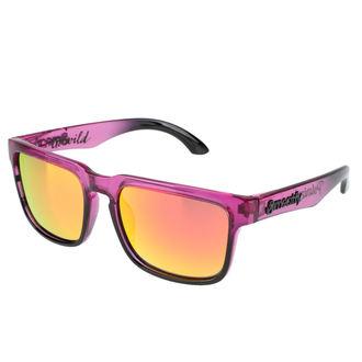 Sunčane naočale Meatfly - Class Polarized C - purpurna boja, MEATFLY