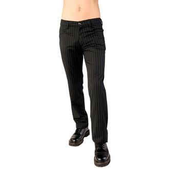 hlače ADERLASS - Denimice Pin Pruga Crno-bijela, ADERLASS