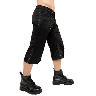 kratke hlače 3/4 ADERLASS - Curtly Ubod Hlače Denim Black, ADERLASS