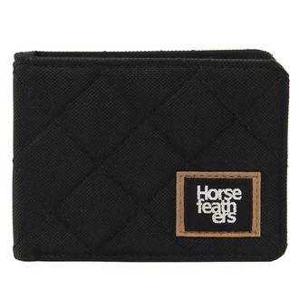Novčanik HORSEFEATHERS - DEACON - BLACK, HORSEFEATHERS