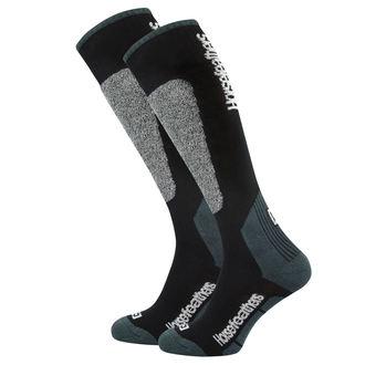 Čarape (čarapa) HORSEFEATHERS - CALEB - BLACK, HORSEFEATHERS