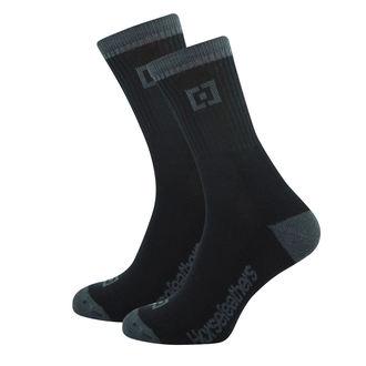 Čarape HORSEFEATHERS - JAYDEN - BLACK, HORSEFEATHERS