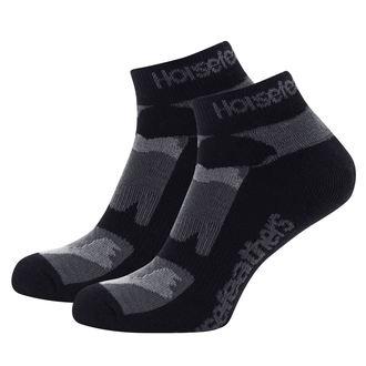 Čarape HORSEFEATHERS - JETT - Crna maskirna, HORSEFEATHERS