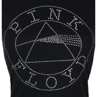 Ženska metal majica Pink Floyd - Circle Logo Diamante - ROCK OFF, ROCK OFF, Pink Floyd