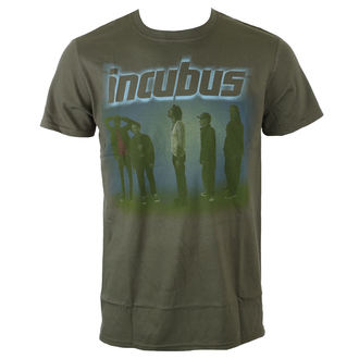 Majica metal muška Incubus - WASHOUT- OLIVE - BRAVADO, BRAVADO, Incubus