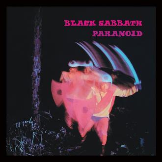 Uramljen poster Black Sabbath (paranoidan) - PYRAMID POSTERS, PYRAMID POSTERS, Black Sabbath