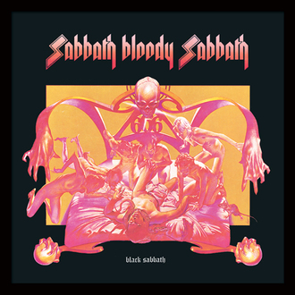 Uramljen poster Black Sabbath - (&&string0&&) - PYRAMID POSTERS, PYRAMID POSTERS, Black Sabbath