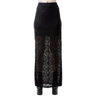 Ženska suknja KILLSTAR - ANGELINA - CRNA, KILLSTAR
