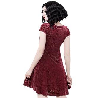 Ženska haljina KILLSTAR - Angelyn - VINO, KILLSTAR