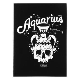 Čestitka KILLSTAR - Aquarius - BLACK, KILLSTAR