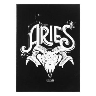 Čestitka KILLSTAR - Aries - BLACK, KILLSTAR