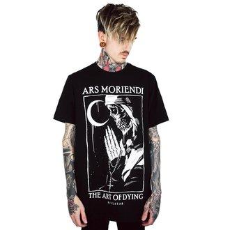 Muška majica KILLSTAR - Ars Moriendi - CRNA, KILLSTAR
